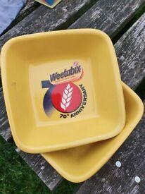 Anniversary weetabix bowl