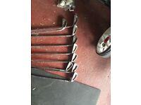 Golf clubs bag &trolley