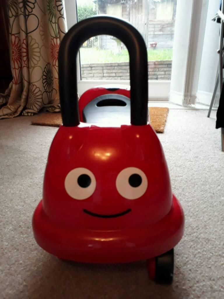 Ladybird ride on toy