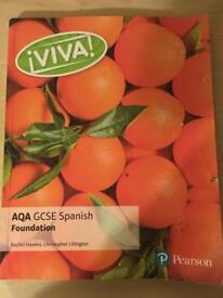 AQA GCSE Spanish Foundation book by Rachel Hawkes, Christopher Lillington