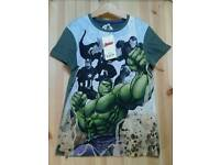 Brand new with tags M & S Marvel Avengers T-Shirt