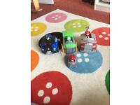 Paw Patrol lights and sounds vehicles
