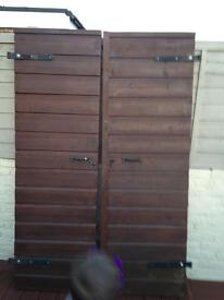 Stable French doors