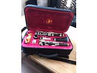 John Packer JP121 Clarinet in hard case w accessories