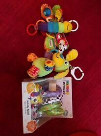 Lamaze playmat and toys