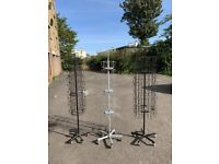 Display stands/spinners/wall panels for Greeting cards, stickers, toys, for retail display
