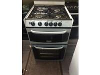 Silver cannon 55cm gas cooker grill & oven good condition with guarantee