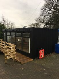 Container/ office / hut / show pod/ garden shed