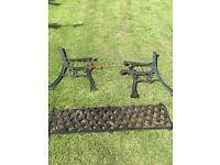 Cast Iron Classic Bench Parts