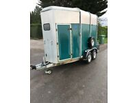 HORSE BOX TRAILER IFOR WILLIAMS CHEAP IN GOOD ORDER export