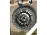 Steel wheel 185/60R 15 with tyre