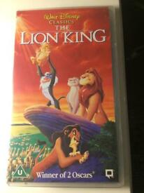 "VHS Tape Walt Disney Classic ""The Lion King"""