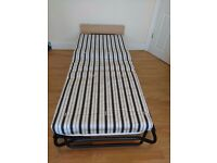 Single JAY BE foldIng bed, hardly used still have original box.