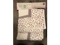Next Floral Table Cloth and Table Runner x2