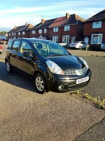 Nissan note 1.4 petrol black