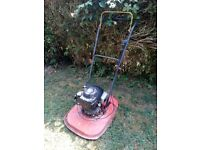 Flymo XL500, petrol 4 stroke hover mower,. (North Dorset, SP8)