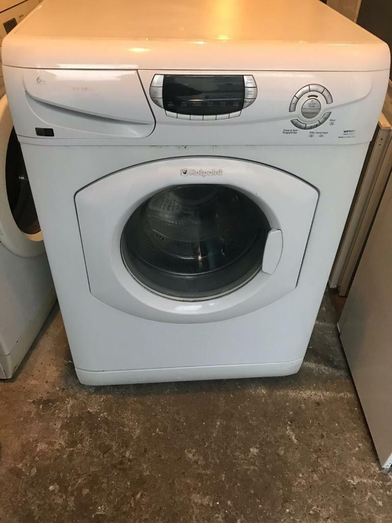 HOTPOINT Super Silent Washing Machine With Free Delivery 🚚