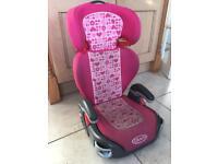 Graco Junior Maxi Car Seat - Pink