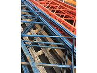 Pallet racking storage shelving