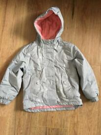 Girls snowflake jacket 4-6 yr as new