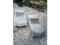 Sports Car / American Cadillac Garden Planter Concrete Garden Statues