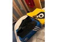 Adidas black trainers brand new