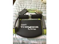 Smart wonder core workout as new used twice complete with instructions,DVD and belt