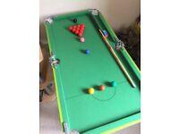 Kids Pool/Snooker Table