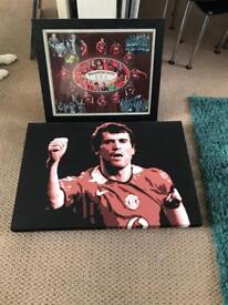 Man united 2 canvases