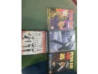 Comedy DVDs x 4 (Incl. Peter Kay)