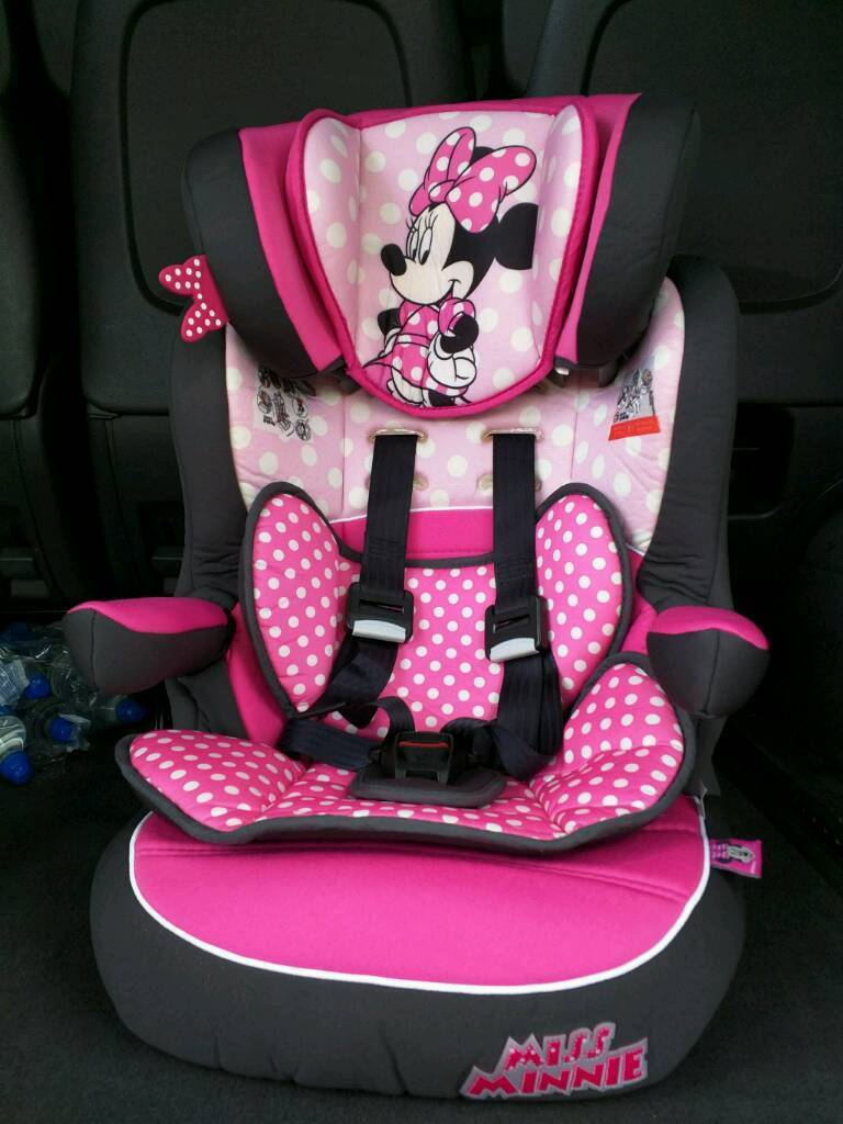 Minnie Mouse Car Seat Group 1 2 3 9