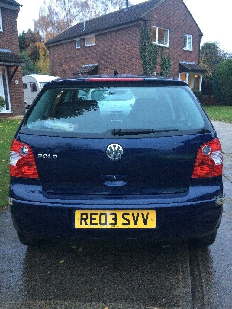 Volkswagen Polo 2003 £549 ONO