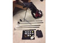 Kids Golf Starter Set (inc trolley and shoes)
