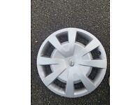 "Genuine toyota 16"" wheel trims. Good condition"