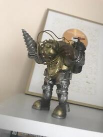 Bioshock Big Daddy collectible statute