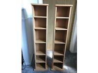 2 DVD/CD Storage Towers