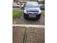 Zafira 1.6, genuine motorway mileage, no rattle on gearbox and engine perfect car