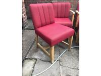 34 Available or Job Lot Ex Social club chairs for pub bar man cave
