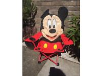 Disney Camping Chair with cup holder - Mickey Mouse