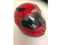 """CABERG""J1 PLUS FULL/HALF FACE HELMET=SIZE 55-56 SMALL=VGC"