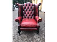 Chesterfield Anne armchair free London delivery