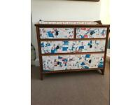 IKEA Leksvik Chest of Drawers Changing Table