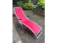 Sun lounger garden furniture