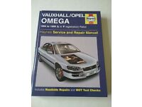Haynes vauxhall/opel omega service and repair manual