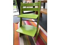 Tripp Trapp Highchair - Lime green