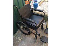 Lomax folding wheelchair