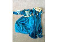 Disneyland Paris Merida (Brave) Costume Dress for Kids (4 years) RRP £60