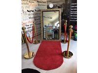 Magic Mirror and Photo Booth Hire - FREE Candy Floss or Popcorn Hire