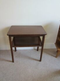 Brown Small Table