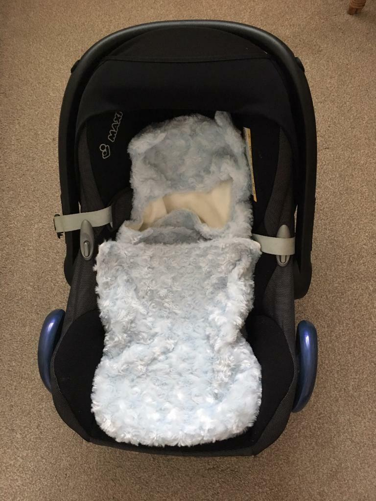 Baby Seat Blanket Wrap For Use In A Car Seat In Bournville West